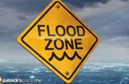 Charleston Church Flooded by Torrential Rain