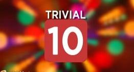 Thursday's Trivial Ten #8