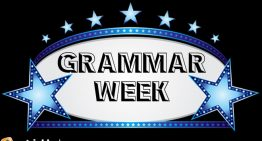 Announcing Grammar Week at Patrick's Place