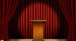 The Grammar Error About Where Speakers Speak