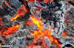 Walking on Hot Coals Burns More Than 30 People