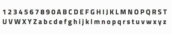 font-titillium